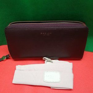 New & Authentic Radley London Wallet Double Zipper
